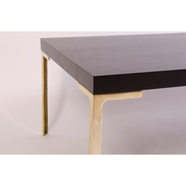 Astor Cocktail Table in Ebonized Walnut by Montage - Image 5 of 6