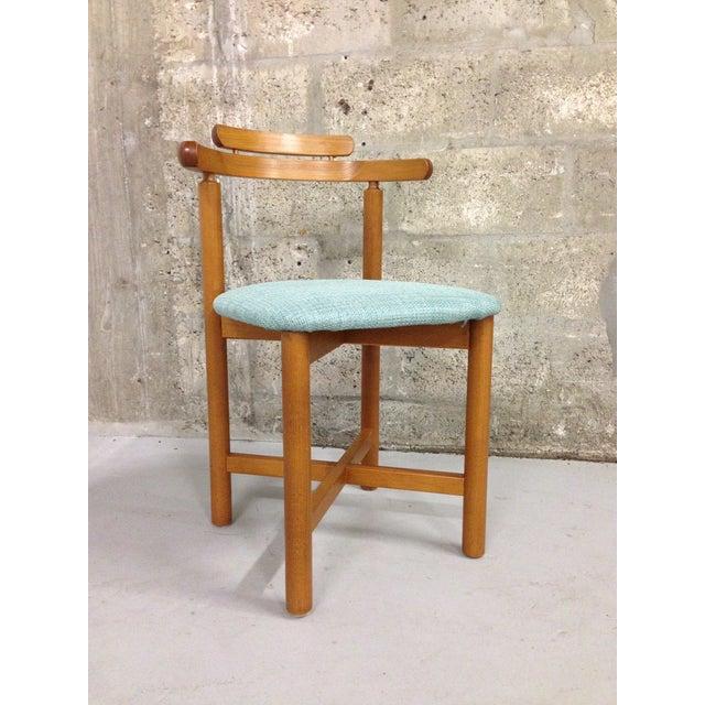 Vintage Danish Mid Century Modern Dining Chair - Image 2 of 9