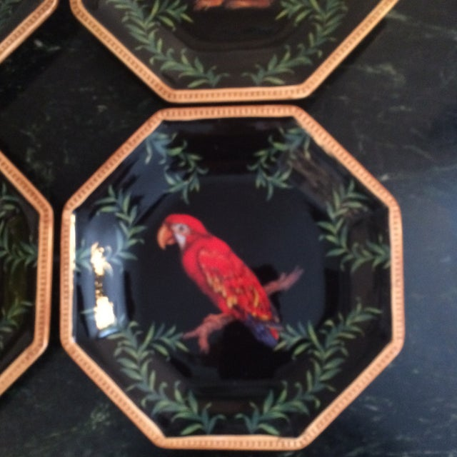 Decorative Decoupage Plates - Set of Four - Image 5 of 9