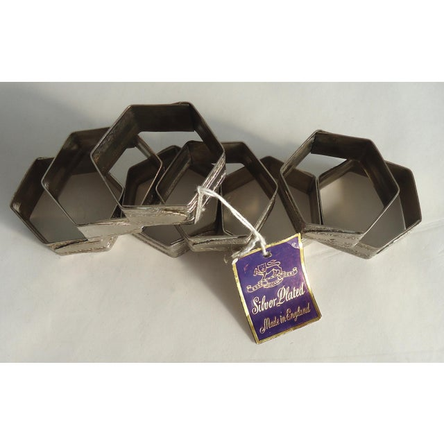 Vintage Silverplate Napkin Rings - Set of 8 - Image 4 of 4