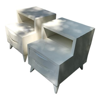 1930s Retro Side Tables - A Pair