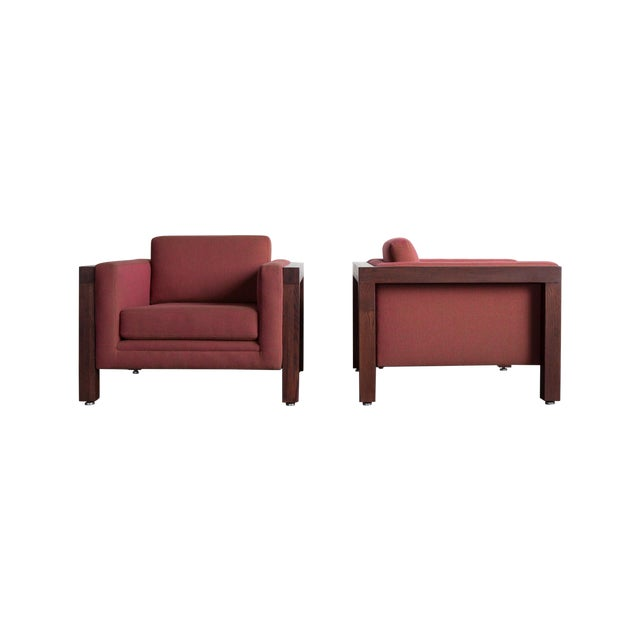 Thayer Coggin Club Chairs - A Pair - Image 1 of 5