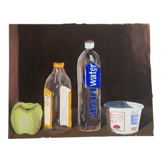 """Still Life With Bottles"" Original Painting"