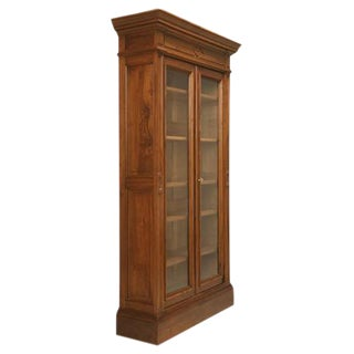 Antique French Walnut Bibliotheque
