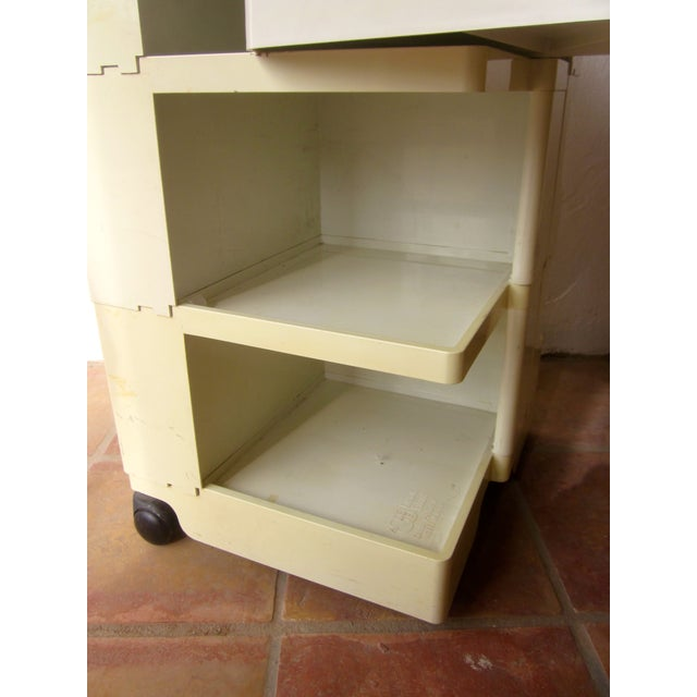 Mid Century Modern Taboret Cart Trolley - Image 8 of 9
