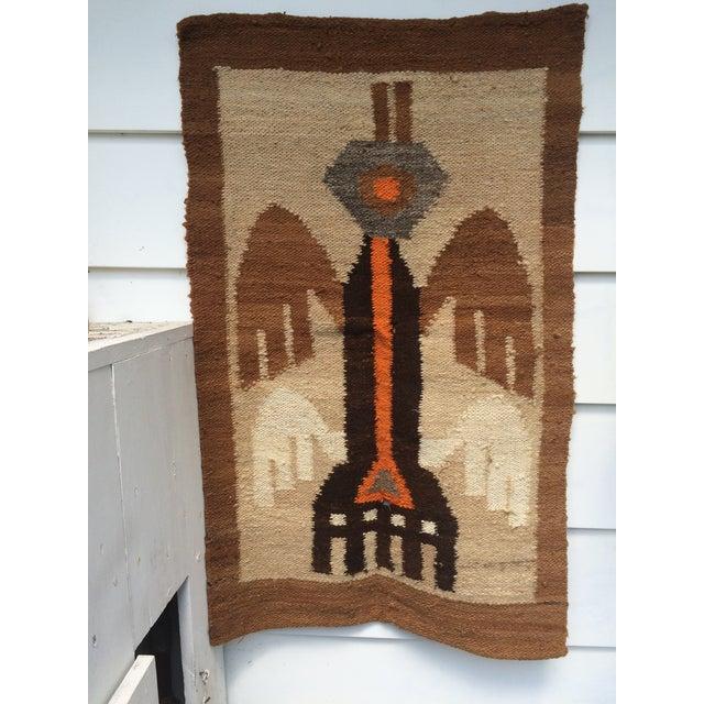 Peruvian Wool Handwoven Fiber Art Chairish