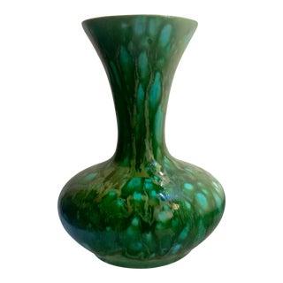 Mid-Century Modern Drip Glaze Vase