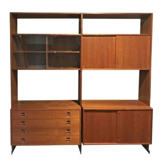 Hans Wegner for Ry Møbler Mid Century Danish Wall Unit