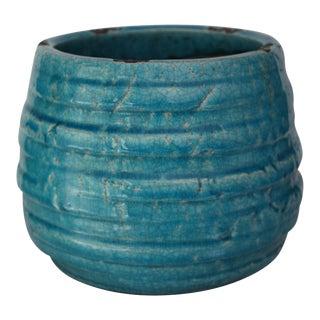 Boho Turquoise Ceramic Planter