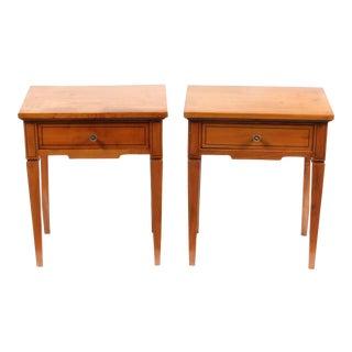 1920s Regency-Style Side Tables, Pair
