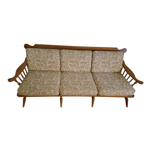 colonial conant ball mid century sofa chairish. Black Bedroom Furniture Sets. Home Design Ideas