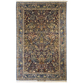 "Exceptional Vintage Isfahan Rug 5'7"" x 8'9"""