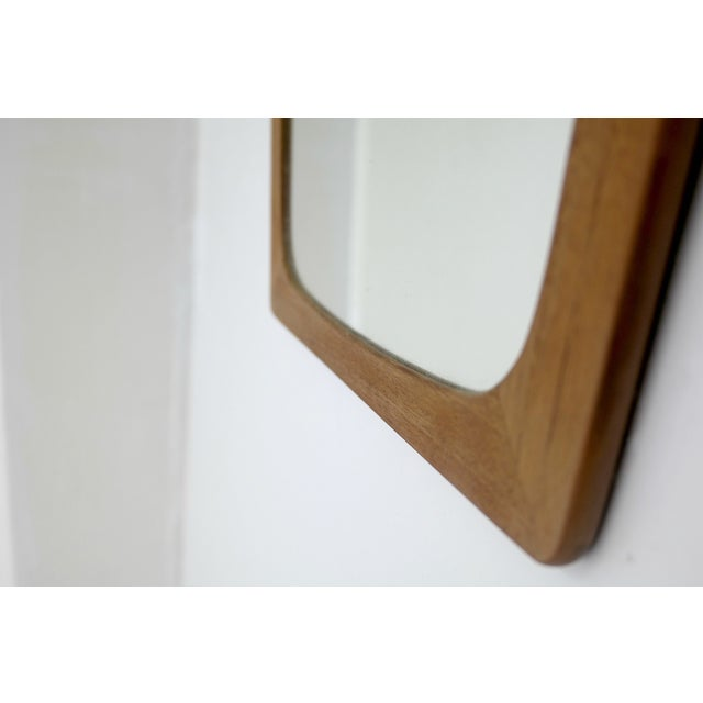 Image of Mid Century Modern Danish Teak Mirror