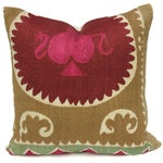 Image of Vintage Suzani Gypsy Pillow
