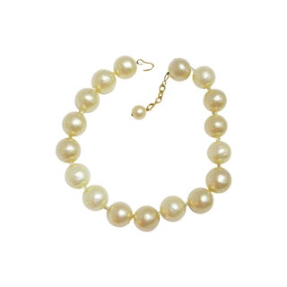 Chanel 80s Gumball Pearl Necklace