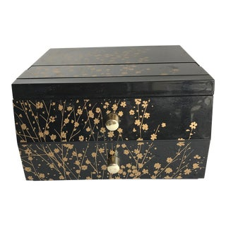 Vintage Japanese Jewel Box