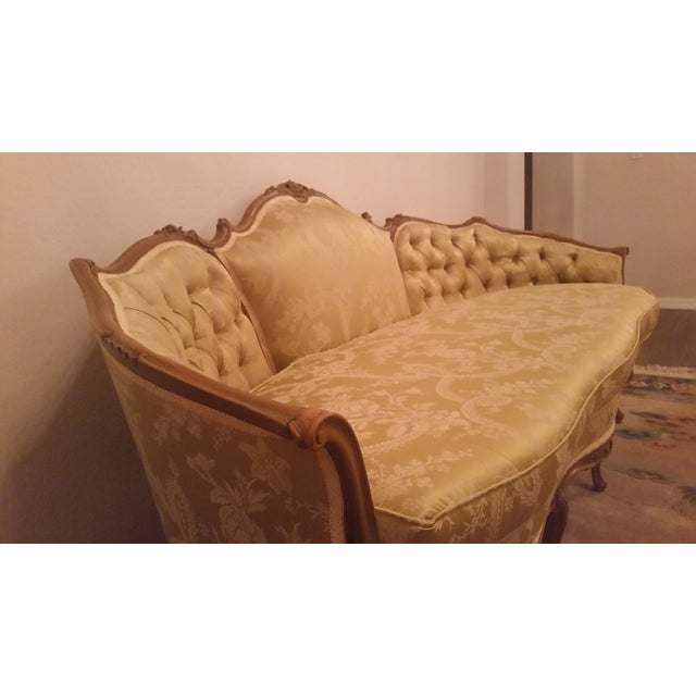 1940s Hollywood Regency Couch - Image 4 of 8