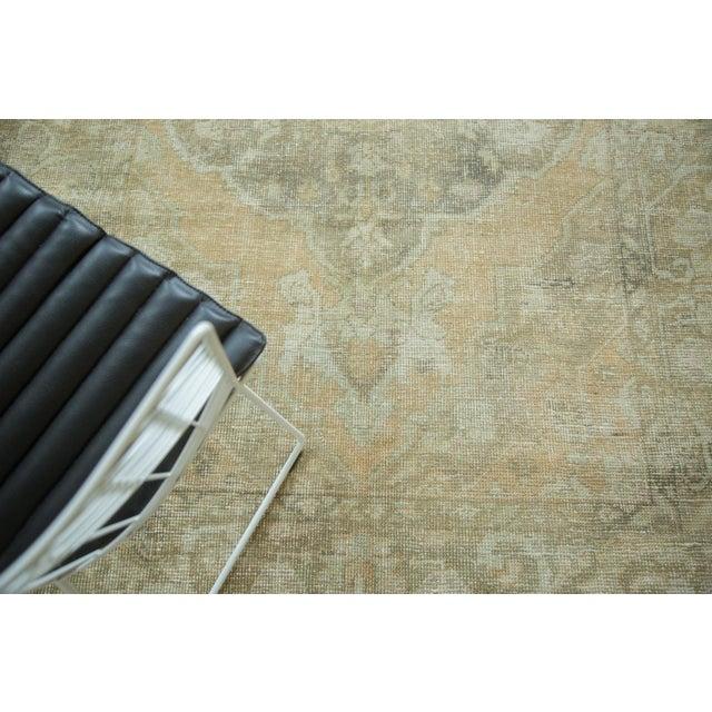"Vintage Distressed Oushak Carpet - 5'8"" x 9'4"" - Image 5 of 10"