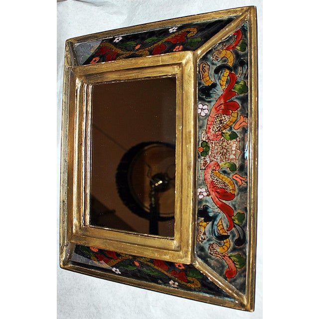 Image of Reverse Painted Mirror