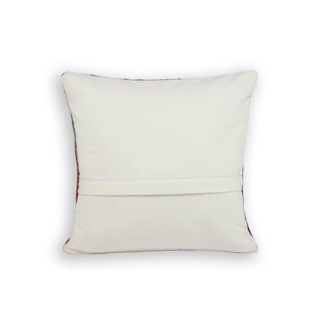 Ethnic Patterned Turkish Kilim Pillow - Image 3 of 3