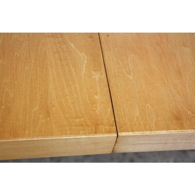 Paul McCobb Maple Extendable Dining Table - Image 6 of 11
