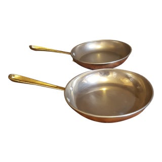 Philippe La France Copper Cookware - A Pair