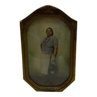 "Circa 1930 Vintage ""Black Woman Going to Work"" Photograph"