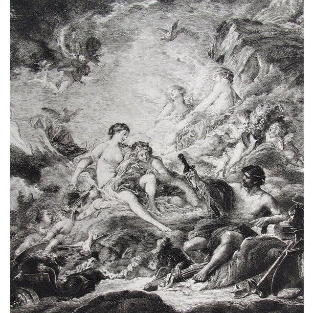 Image of Boucher 1856 Venus and Vulcan Engraving