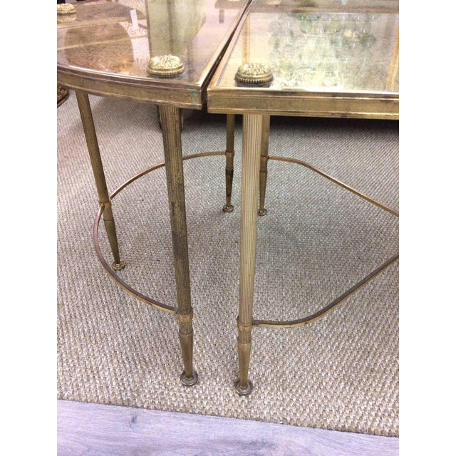 Vintage Oblong Gilded Coffee Table - Image 6 of 9