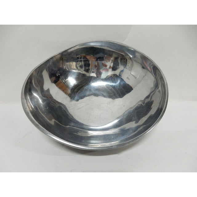 Bruce Fox Design Aluminum Bowl - Image 3 of 7
