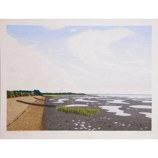 Bill Sullivan - Low Tide 7 Hand Colored Lithograph