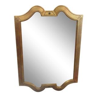 Gold Gilt Hollywood Regency Mirror