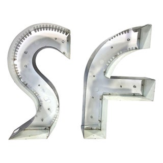 Decorative San Francisco Letters