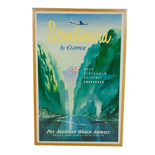 Original Pan Am Travel Poster