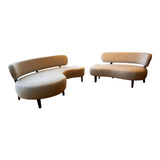 Modern Kidney-Curved Custom Sofa Set