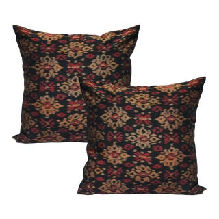 """Bali Siring"" Ikat Pillow Covers - A Pair"