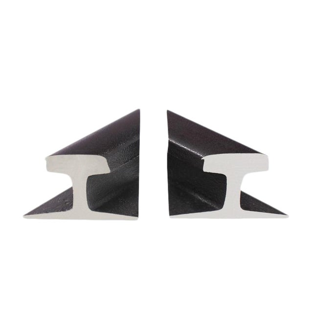 Pair of Rail Road Sections Bookends - Image 1 of 9