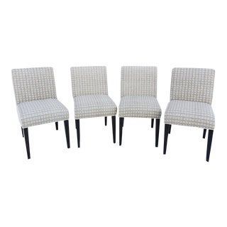Kelly Wearstler Print Dining Chairs - Set of 4