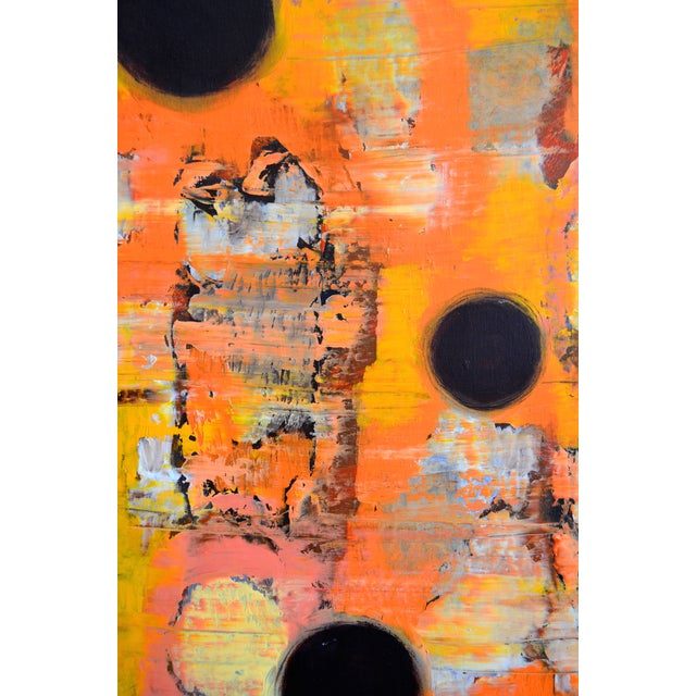 Image of Abstract Painting - Orange