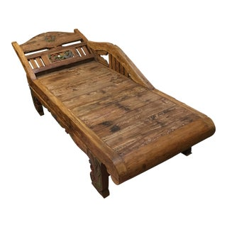 Recycled Teak Divan Daybed