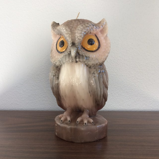 Vintage Owl Candle - Image 2 of 11