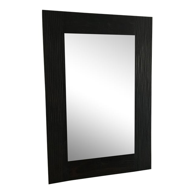 Z gallerie wood mirror chairish for Mirror z gallerie
