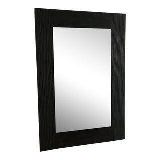 Z Gallerie Wood Mirror
