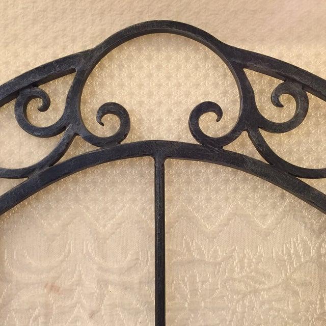 Maitland-Smith Iron Bakers Rack - Image 8 of 9