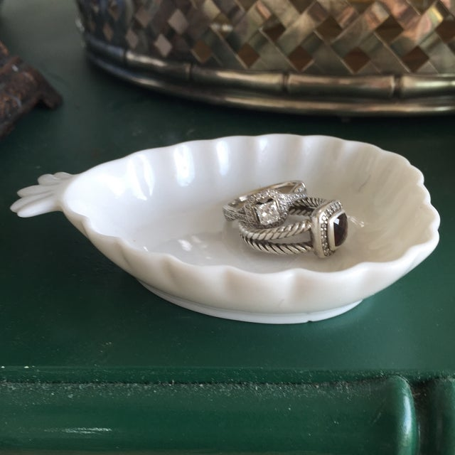 Vintage Blanc De Chine Pineapple Trinket Dish - Image 9 of 10