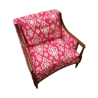Henredon Ikat Club Chair