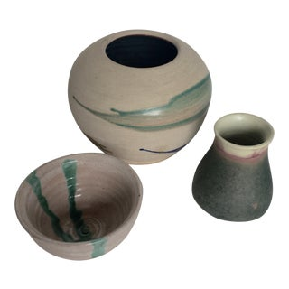 Artistic Signed Pottery - 3