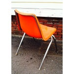 Image of Orange Astro Furnishings Shell Chair