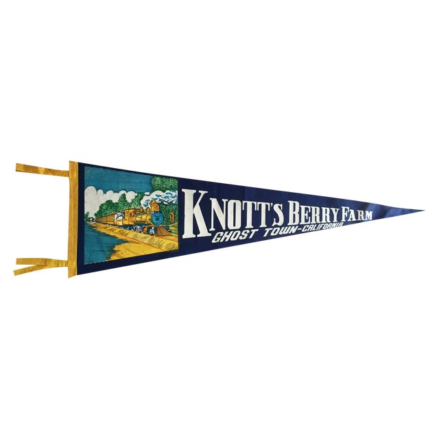 Knott's Berry Farm Vintage Pennant - Image 1 of 6