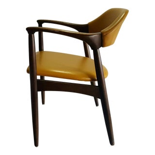 Danish Modern Teak Desk Chair